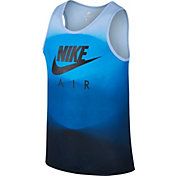 Nike Men's Sportswear Fade Printed AM95 Sleeveless Shirt