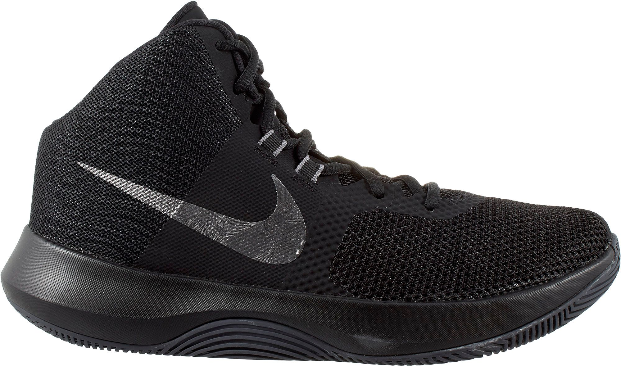 Promotions Nike Basketball Shoes Men's Silver/Black-White M4820866
