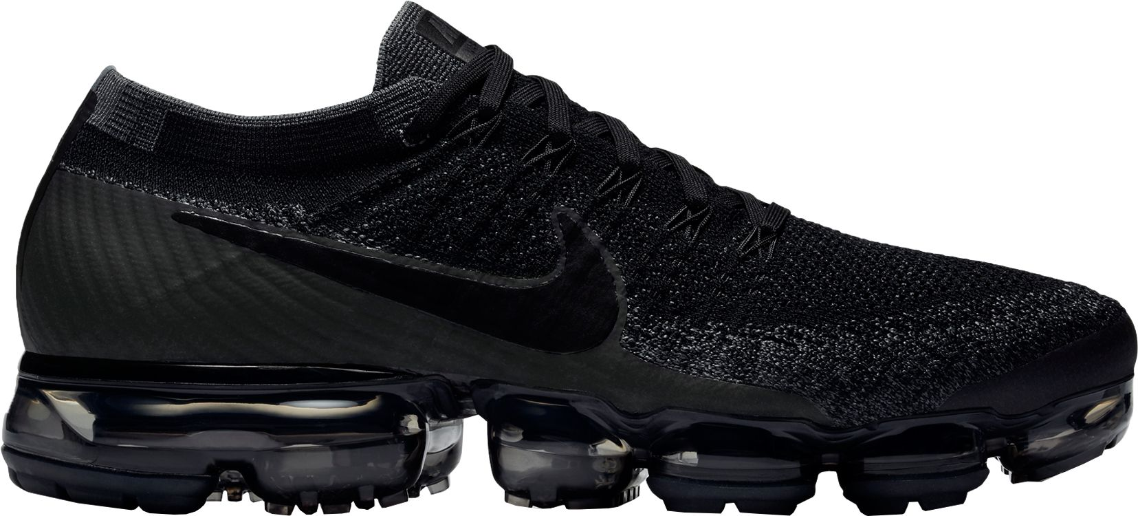 Black Comme des Garcons Air VaporMax Flyknit Sneakers Barneys