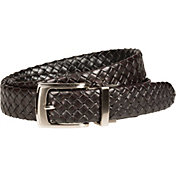 Walter Hagen Men's Tubular Braid Reversible Golf Belt