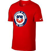 Nike Men's 2018 FIFA World Cup Chile Crest Red T-Shirt