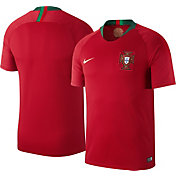 Nike Men's 2018 FIFA World Cup Portugal Breathe Stadium Home Replica Jersey