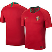 Nike Men's 2018 FIFA World Cup Portugal Vapor Match Home Jersey