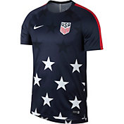 Nike Men's USA 2017 Gold Cup Dry Squad Navy Top