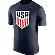 Nike Men's USA Legend Crest Navy Performance T-Shirt
