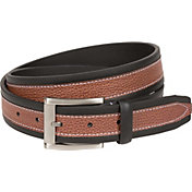 Walter Hagen Men's Pebble Overlay Golf Belt