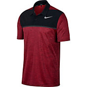 Nike Men's TW Dry Blocked Golf Polo