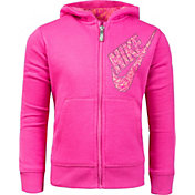 Nike Toddler Girls' Sportswear Club Full Zip Hoodie