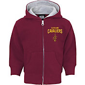 NBA Toddler Cleveland Cavaliers Burgundy Full-Zip Hoodie