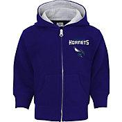 NBA Toddler Charlotte Hornets Purple Full-Zip Hoodie