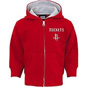 NBA Toddler Houston Rockets Red Full-Zip Hoodie