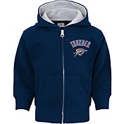NBA Toddler Oklahoma City Thunder Navy Full-Zip Hoodie