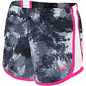 Nike Toddler Girls' All-Over Print Tempo Shorts