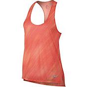 Nike Women's Breathe Light Streak Printed Running Tank Top