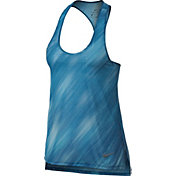 Nike Women's Breathe Light Streak Printed Running Tank Top