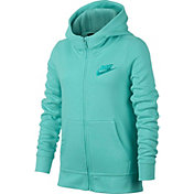 Nike Girls' Sportswear Club Cotton Full Zip Hoodie
