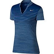 Nike Women's Zonal Cooling Print Golf Polo