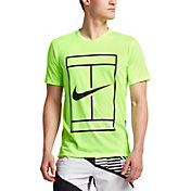 Nike Men's Court Dry Baseline Tennis Shirt