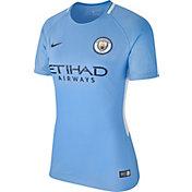 Nike Women's Manchester City Breathe Replica Home Stadium Jersey