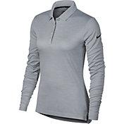 Nike Women's Dry Long Sleeve Golf Polo