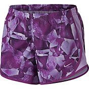 Nike Girls' Dry Printed Tempo Running Shorts