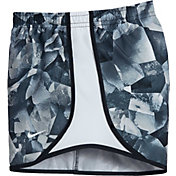 Nike Girls' Dry Printed Tempo Running Shorts