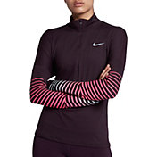 Nike Women's Dry Element Flash ½ Zip Running Shirt