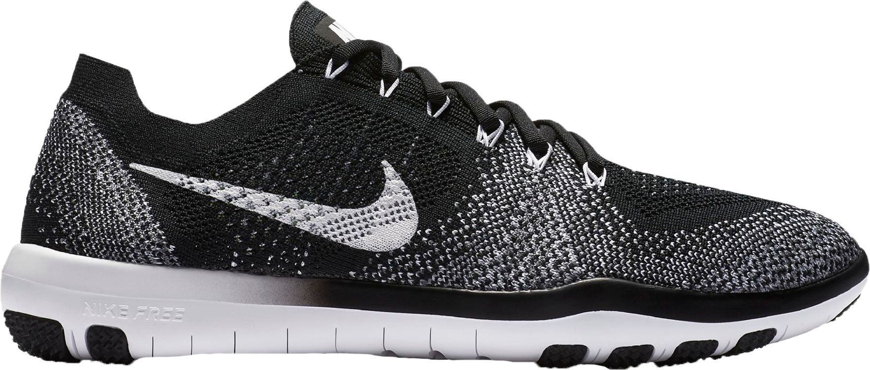 2bfaf5511e06b7 ... (black white-cool grey) Nike Womens Free Focus Flyknit 2 Training Shoes  DICKS Sport ...