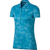 Nike Women's Dry Geo Printed Golf Polo
