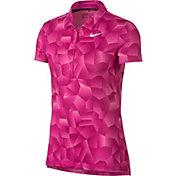 Nike Women's Dry Geo Printed Golf Polo