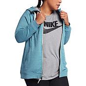 Nike Women's Plus Size Sportswear Gym Classic Full Zip Hoodie