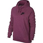 Nike Women's Sportswear Heatherized Rally Hoodie