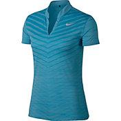 Nike Women's Zonal Cooling Jacquard Golf Polo