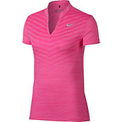 Nike Women's Zonal Cooling Jacquard Golf Polo