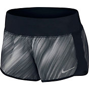 Nike Women's Light Streak Crew Printed Running Shorts