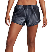 Nike Women's Light Streak Printed Modern Tempo Running Shorts