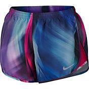 Nike Women's Light Streak Printed Modern Tempo Running Shorts