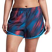 Nike Women's Plus Size Lightstreak Printed Tempo Shorts