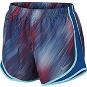 Nike Women's Lightstreak Printed Tempo Running Shorts