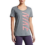 Nike Women's Dry Legend Scoop Graphic T-Shirt
