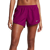 Nike Women's Modern Embossed Printed Tempo Core Running Shorts