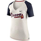Nike Women's Atlanta Braves Fan V-Neck Shirt