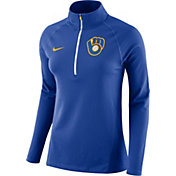 Nike Women's Milwaukee Brewers Dri-FIT Core Half-Zip Jacket