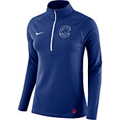 Nike Women's Chicago Cubs Dri-FIT Core Half-Zip Jacket