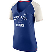 Nike Women's Chicago Cubs Fan V-Neck Shirt