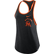Nike Women's Miami Marlins Tri-Blend Tank Top