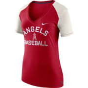 Nike Women's Los Angeles Angels Fan V-Neck Shirt