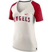 Nike Women's Los Angeles Angels Fan V-Neck Shirt