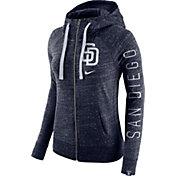 Nike Women's San Diego Padres Vintage Full-Zip Hoodie
