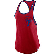 Nike Women's Philadelphia Phillies Tri-Blend Tank Top